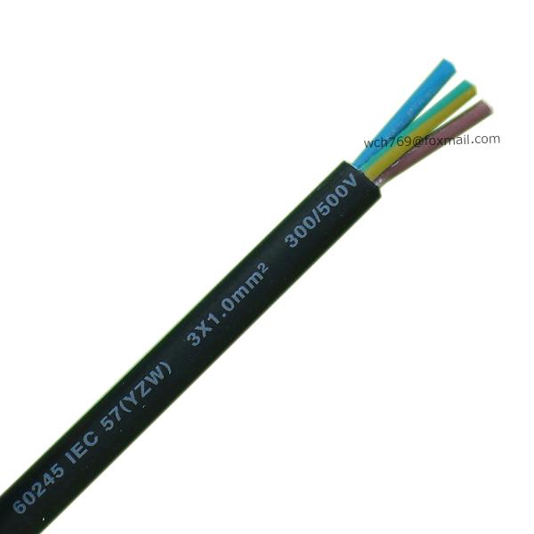 60245 IEC 57(YZW) 3x1.0