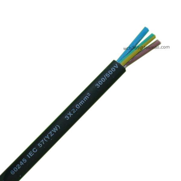 60245 IEC 57(YZW) 3x2.0