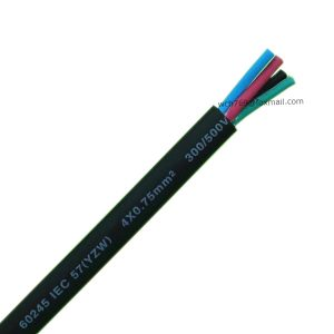 60245 IEC 57(YZW) 4x0.75