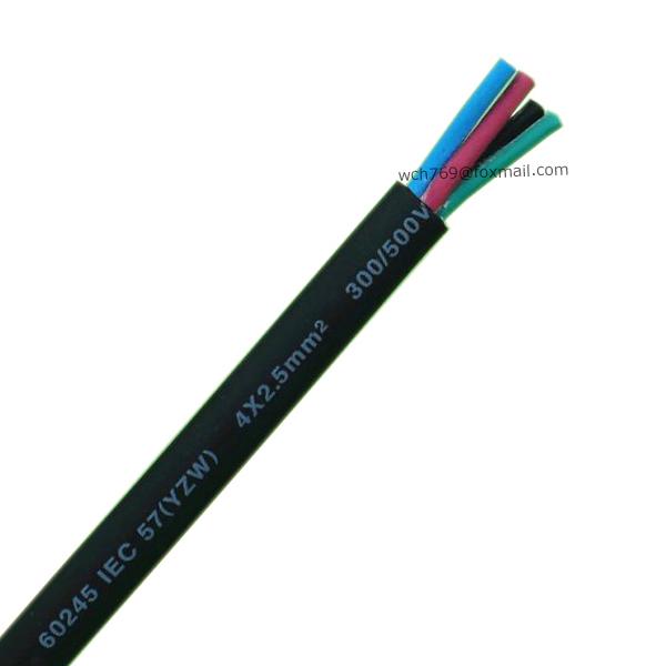 60245 IEC 57(YZW) 4x2.5